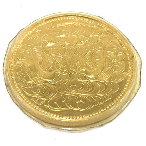 美品 日本国 御在位60年 昭和61年 10万円 金貨 30mm 20g QR043-13