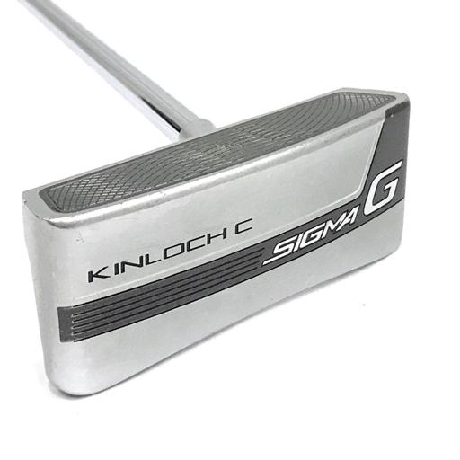ピン パター SIGMA G KINLOCH C 33インチ ゴルフクラブ ヘッドカバー 付属 PING QT043-23