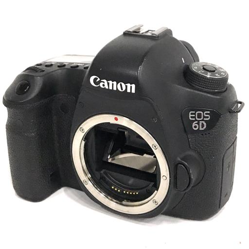 1円 Canon EOS 6D デジタル一眼レフカメラ ボディ LENS EF 50mm F1.8 II レンズ 動作品 付属品有り キャノン