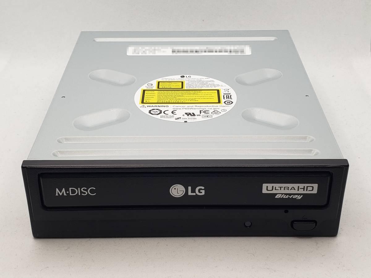 新品【UHDフレンドリー】 LG電子 WH16NS60 内蔵 Ultra HD Blu-ray ブルーレイドライブ 16倍速書込対応 SATA接続 PowerDVD for UHD付属