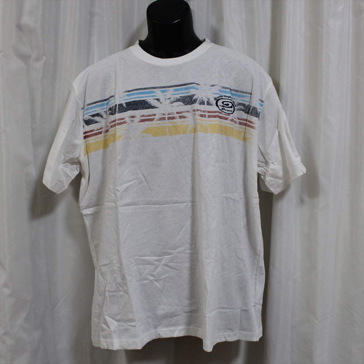 ピコ PIKO メンズ半袖Tシャツ ホワイト XXLサイズ 新品 白 アウトレット_画像1