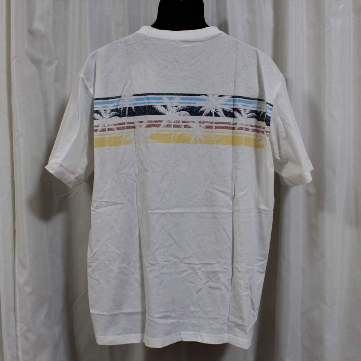 ピコ PIKO メンズ半袖Tシャツ ホワイト XXLサイズ 新品 白 アウトレット_画像3