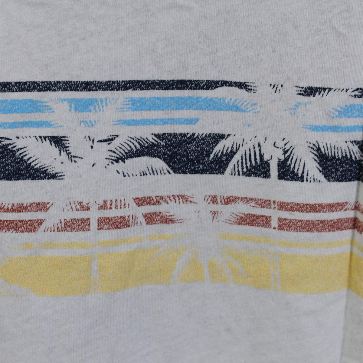 ピコ PIKO メンズ半袖Tシャツ ホワイト XXLサイズ 新品 白 アウトレット_画像4
