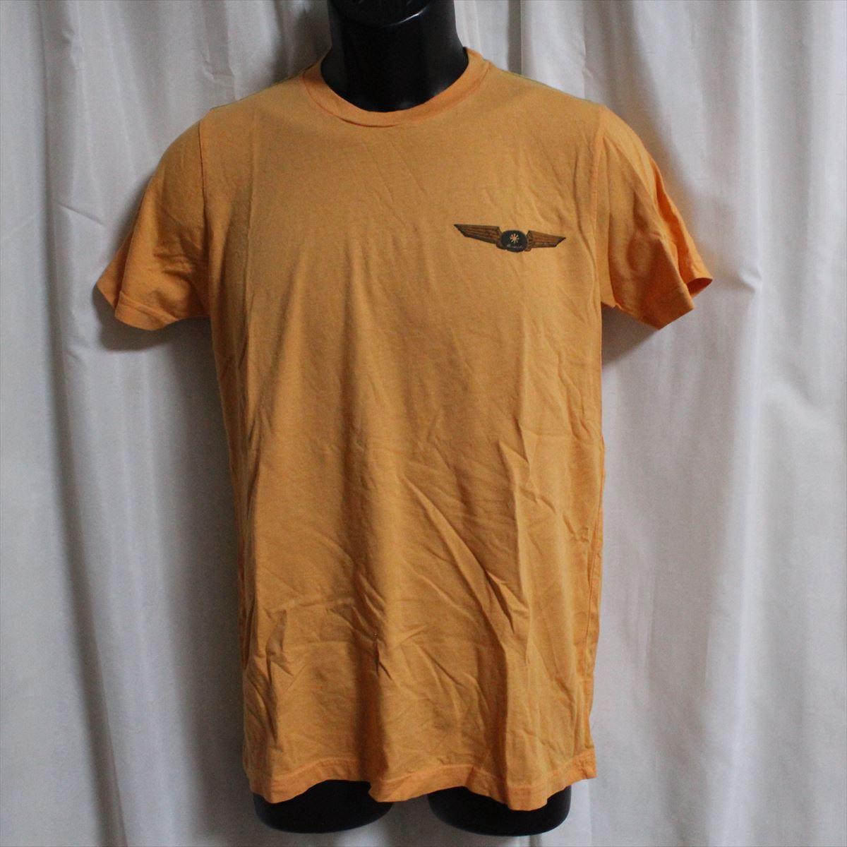 ホゼル HOZELL メンズ半袖Tシャツ Mサイズ オレンジ 新品_画像1