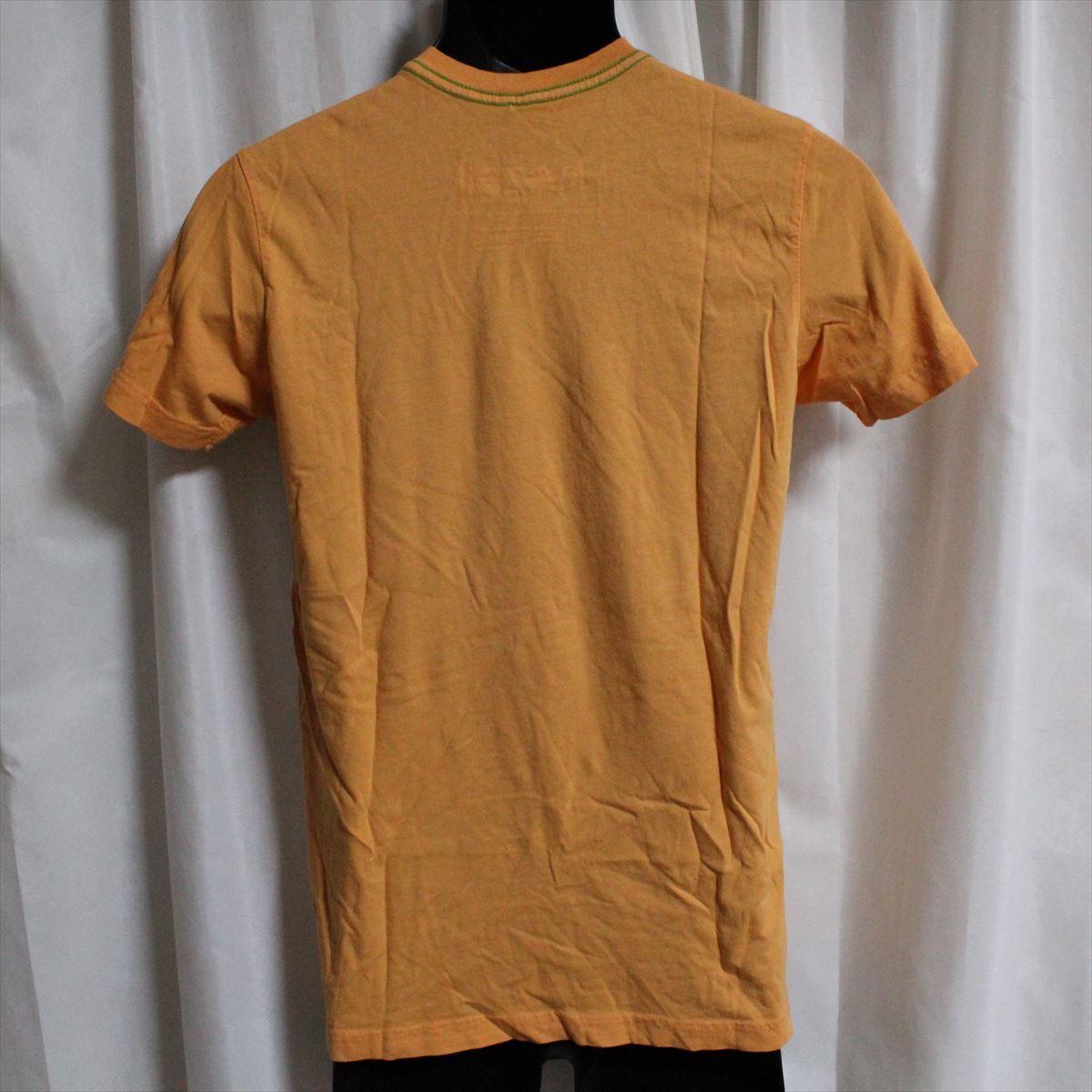 ホゼル HOZELL メンズ半袖Tシャツ Mサイズ オレンジ 新品_画像3