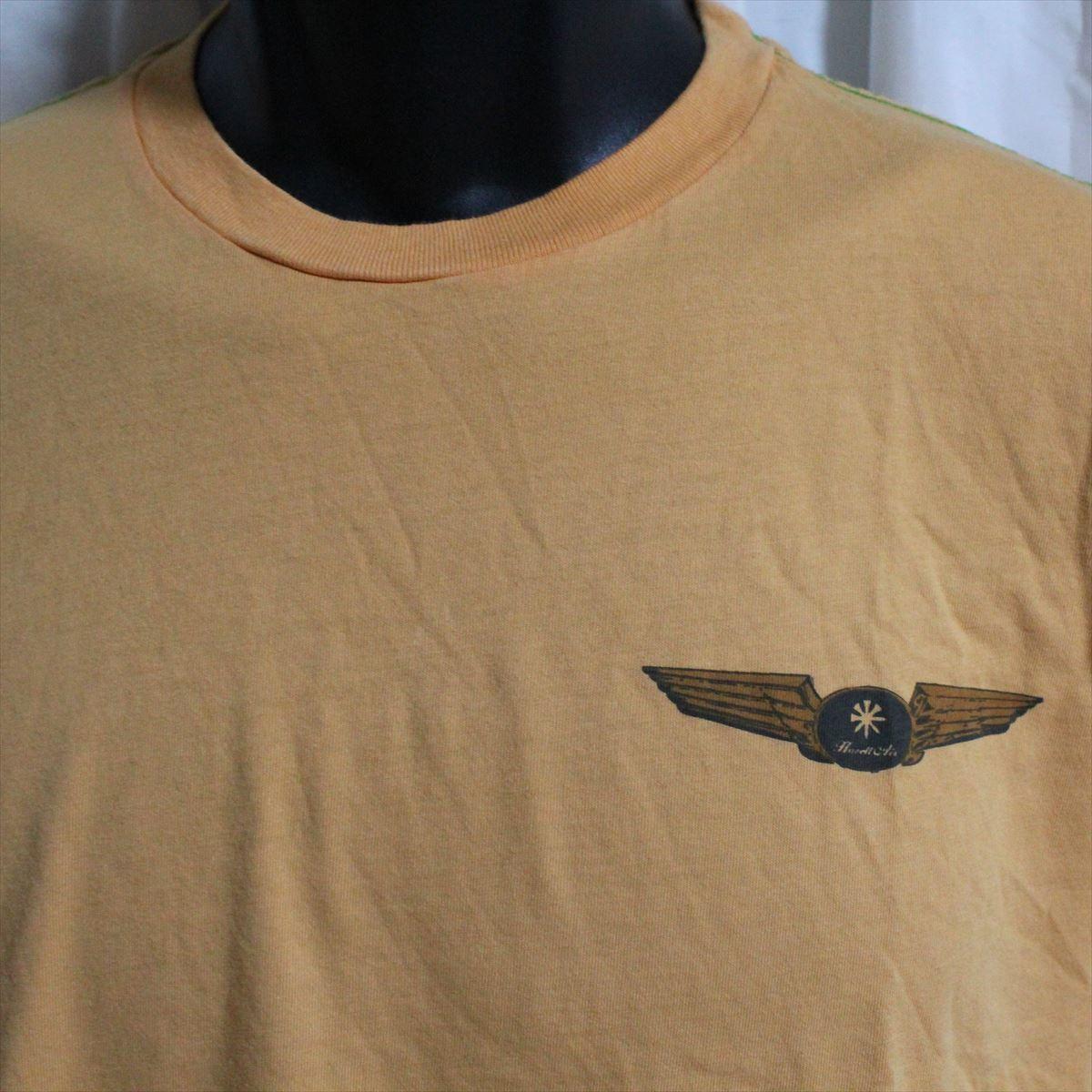 ホゼル HOZELL メンズ半袖Tシャツ Mサイズ オレンジ 新品_画像2