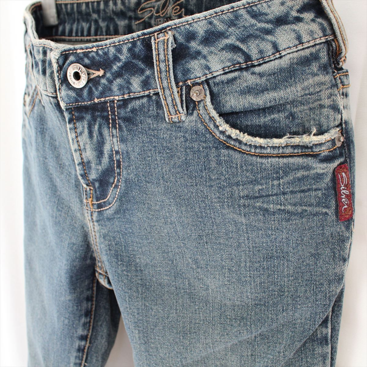 シルバージーンズ Silver Jeans レディースデニムパンツ 25インチ 新品_画像2