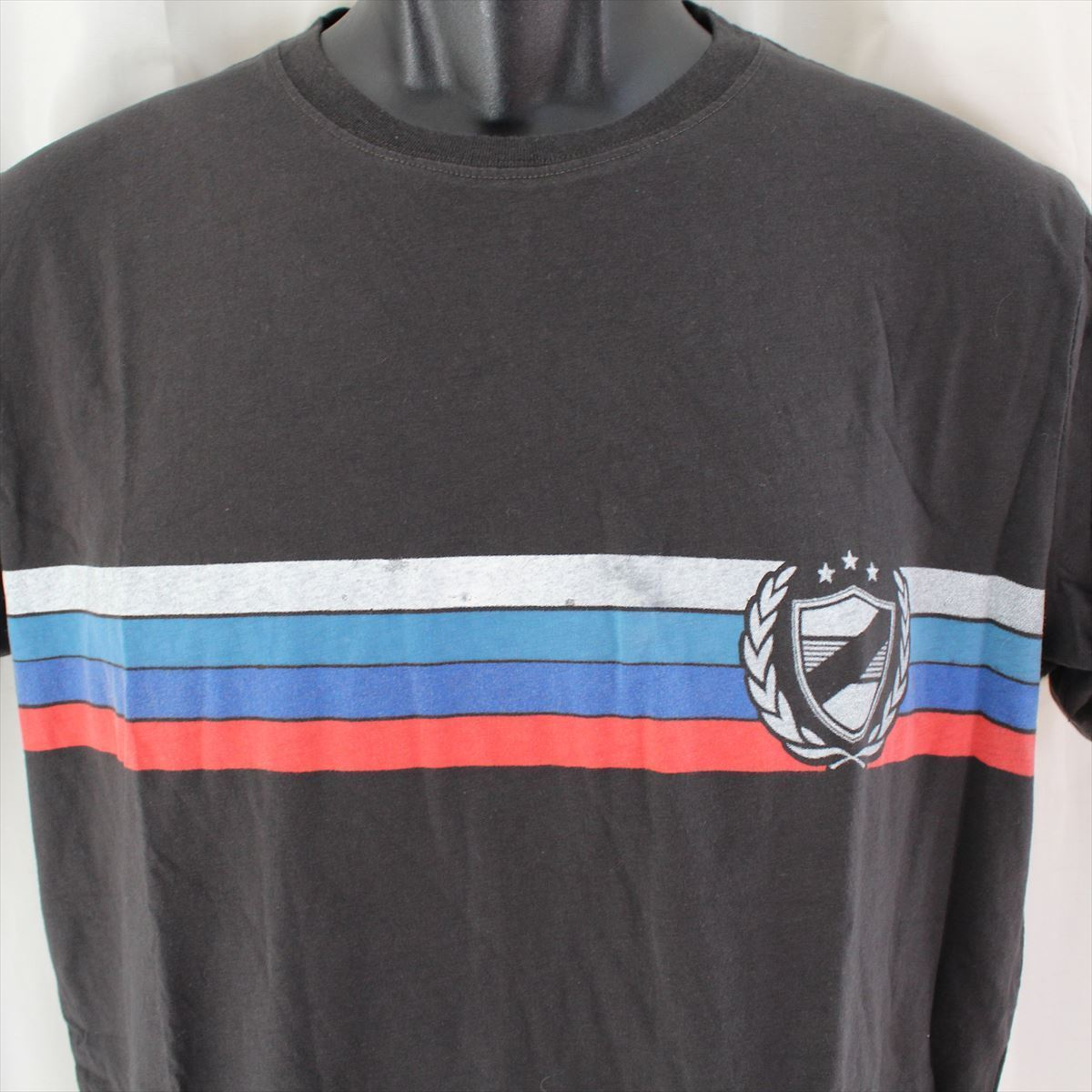 ゼインローブ ZANEROBE メンズ半袖Tシャツ ブラック Lサイズ 新品_画像2