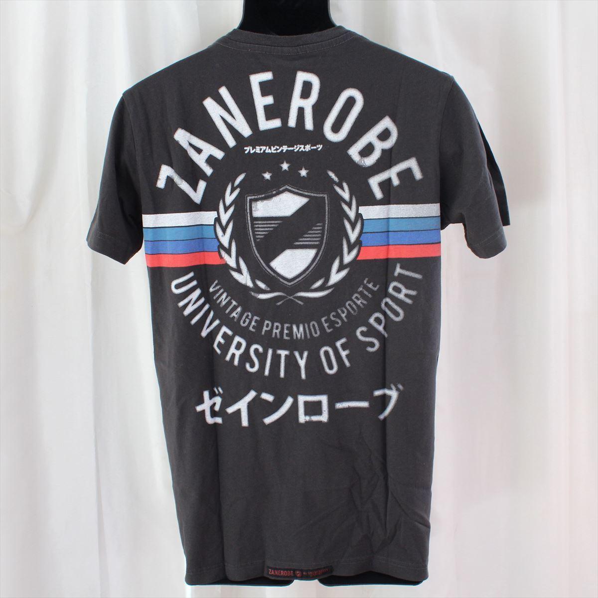 ゼインローブ ZANEROBE メンズ半袖Tシャツ ブラック Mサイズ 新品_画像4