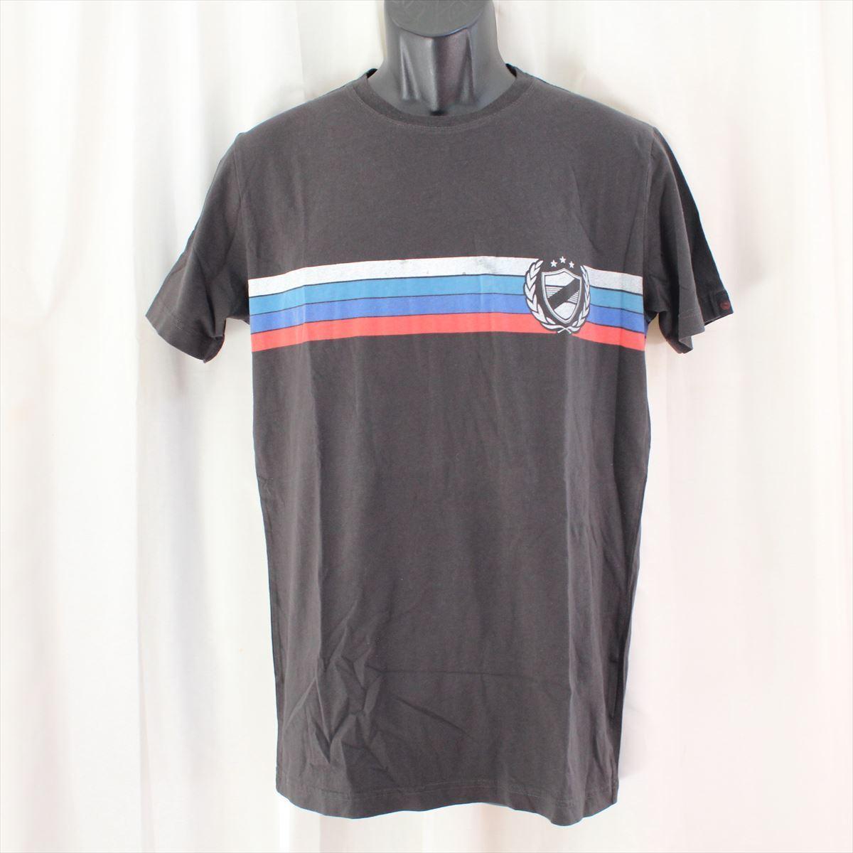 ゼインローブ ZANEROBE メンズ半袖Tシャツ ブラック Mサイズ 新品_画像1