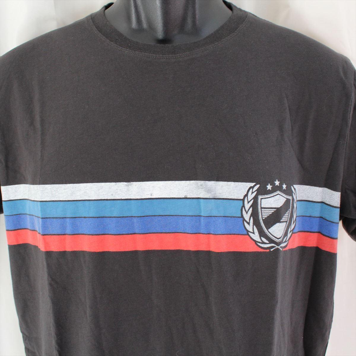 ゼインローブ ZANEROBE メンズ半袖Tシャツ ブラック Mサイズ 新品_画像2