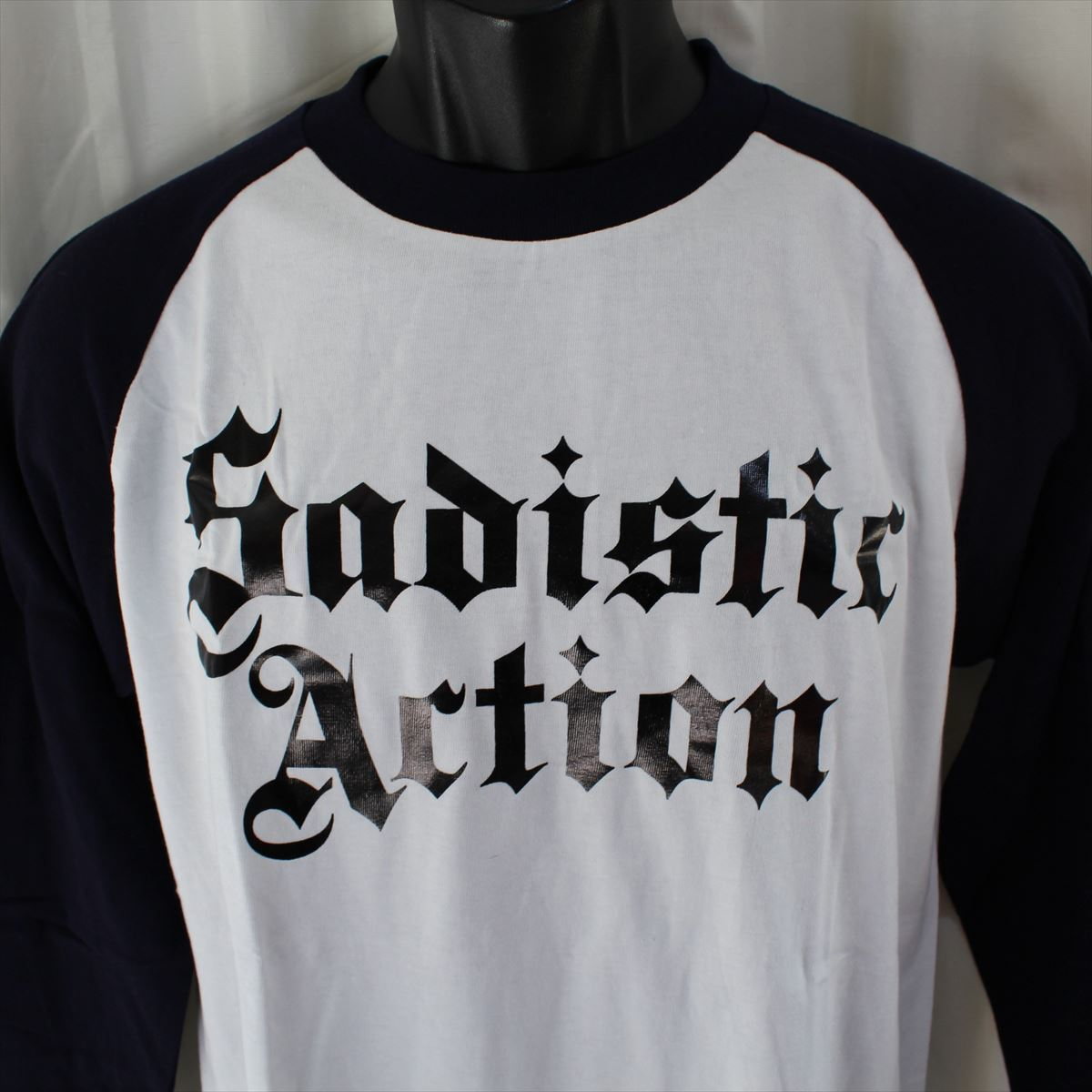 サディスティックアクション SADISTIC ACTION メンズ長袖Tシャツ Mサイズ NO15 新品_画像2
