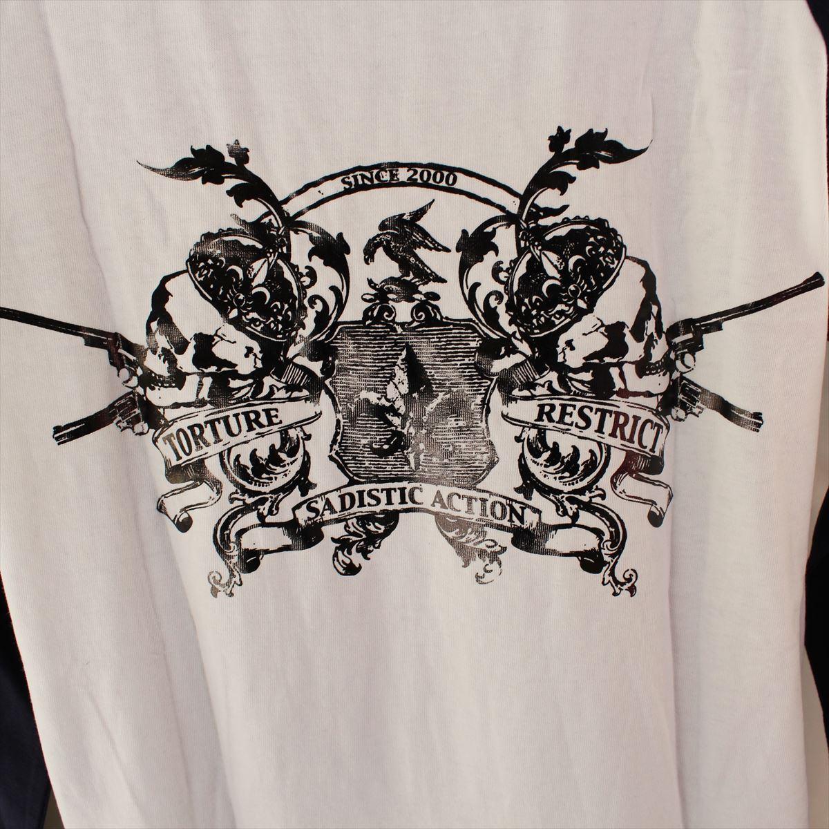サディスティックアクション SADISTIC ACTION メンズ長袖Tシャツ Mサイズ NO15 新品_画像5