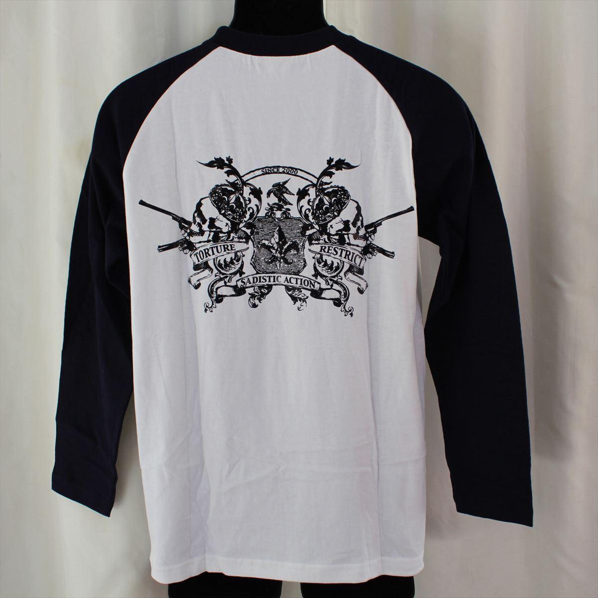 サディスティックアクション SADISTIC ACTION メンズ長袖Tシャツ Mサイズ NO15 新品_画像4
