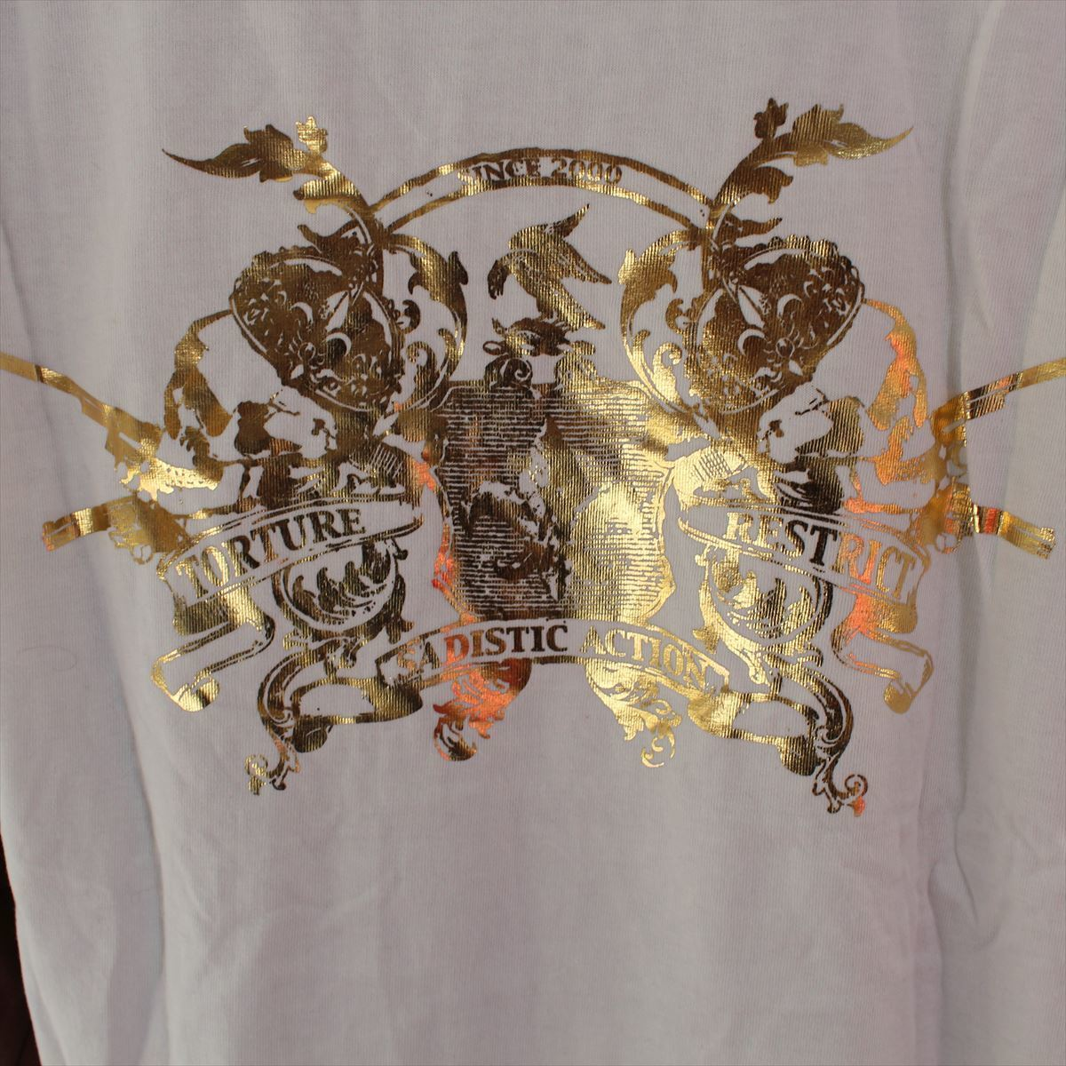 サディスティックアクション SADISTIC ACTION メンズ長袖Tシャツ Mサイズ NO14 新品_画像4