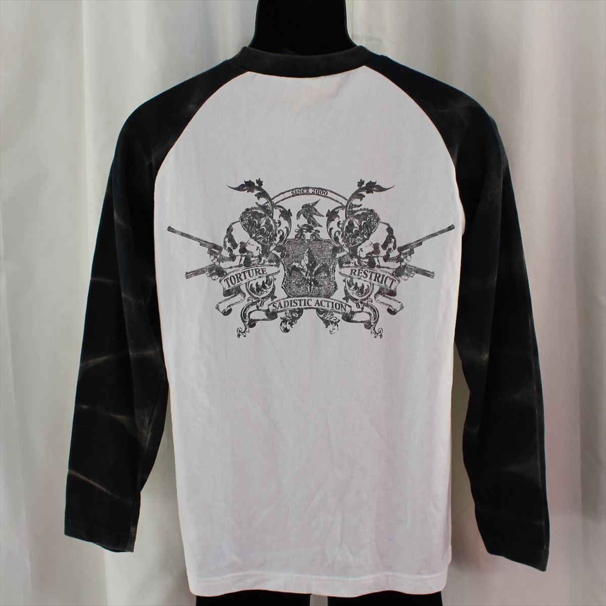 サディスティックアクション SADISTIC ACTION メンズ長袖Tシャツ Lサイズ NO32 新品_画像6