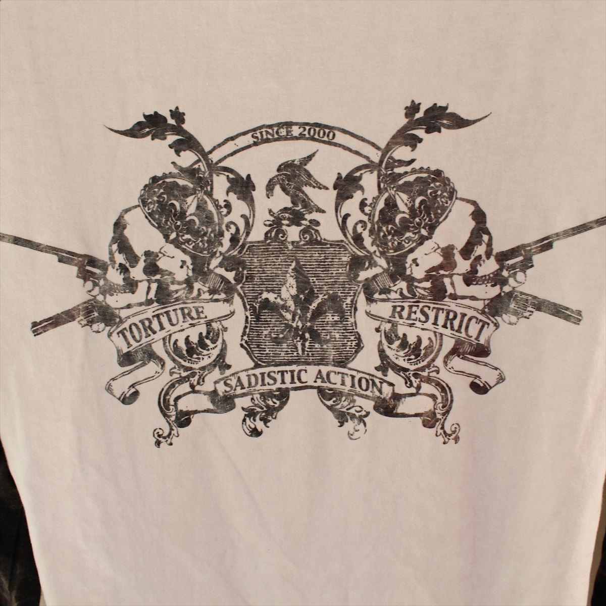 サディスティックアクション SADISTIC ACTION メンズ長袖Tシャツ Lサイズ NO32 新品_画像7