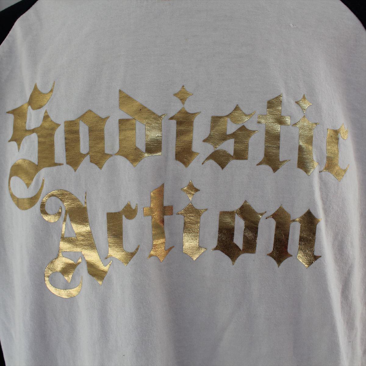 サディスティックアクション SADISTIC ACTION メンズ長袖Tシャツ Lサイズ NO32 新品_画像3