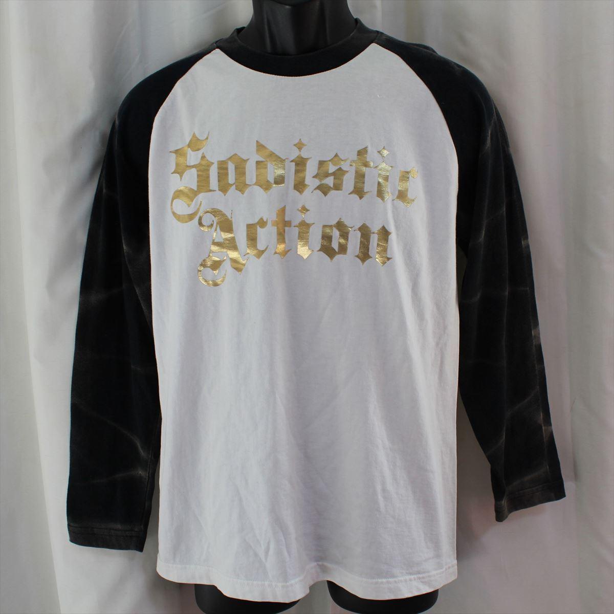 サディスティックアクション SADISTIC ACTION メンズ長袖Tシャツ Lサイズ NO32 新品_画像1