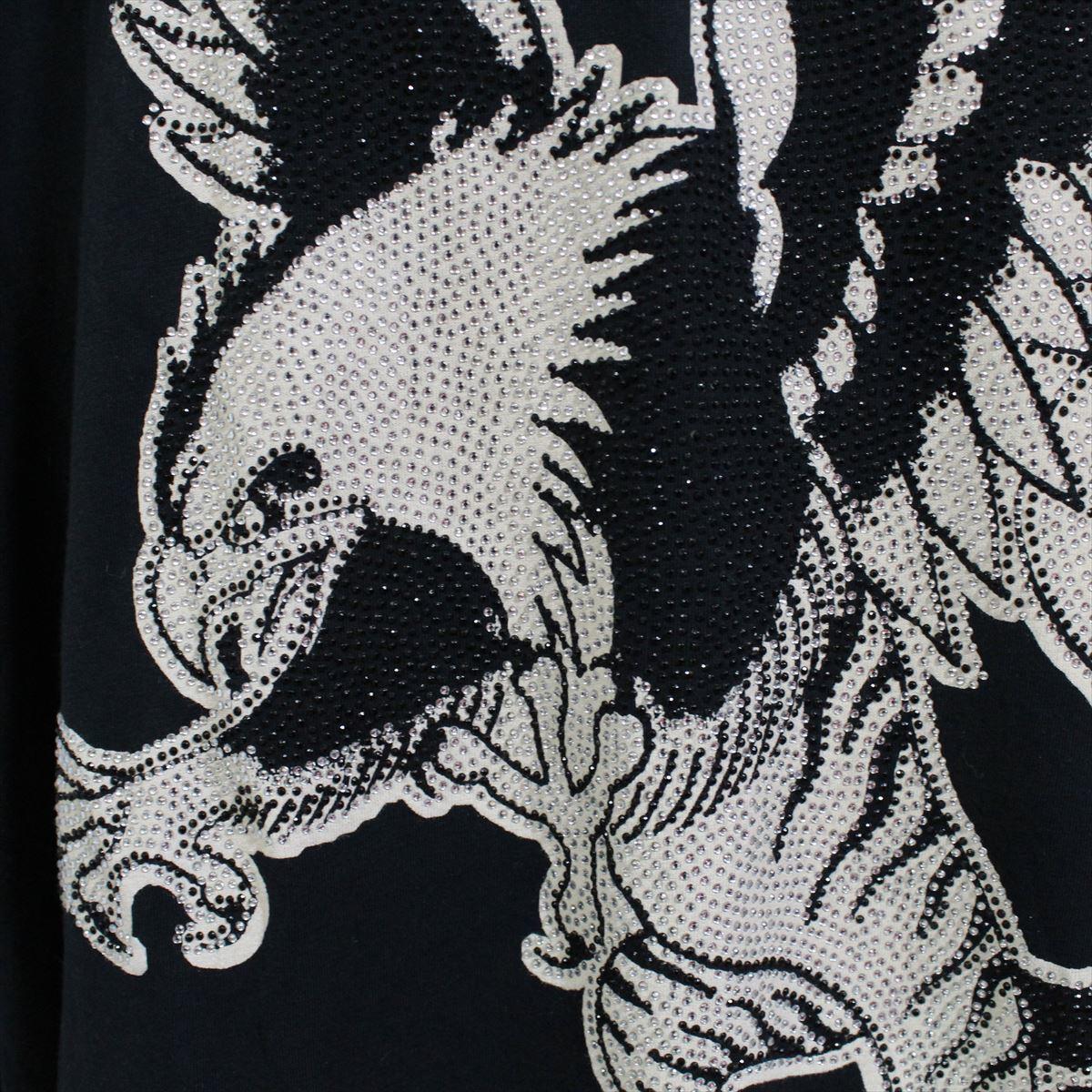 エドハーディー ED HARDY メンズ長袖Tシャツ ブラック Mサイズ LT409 新品 ドン・エド・ハーディー_画像3