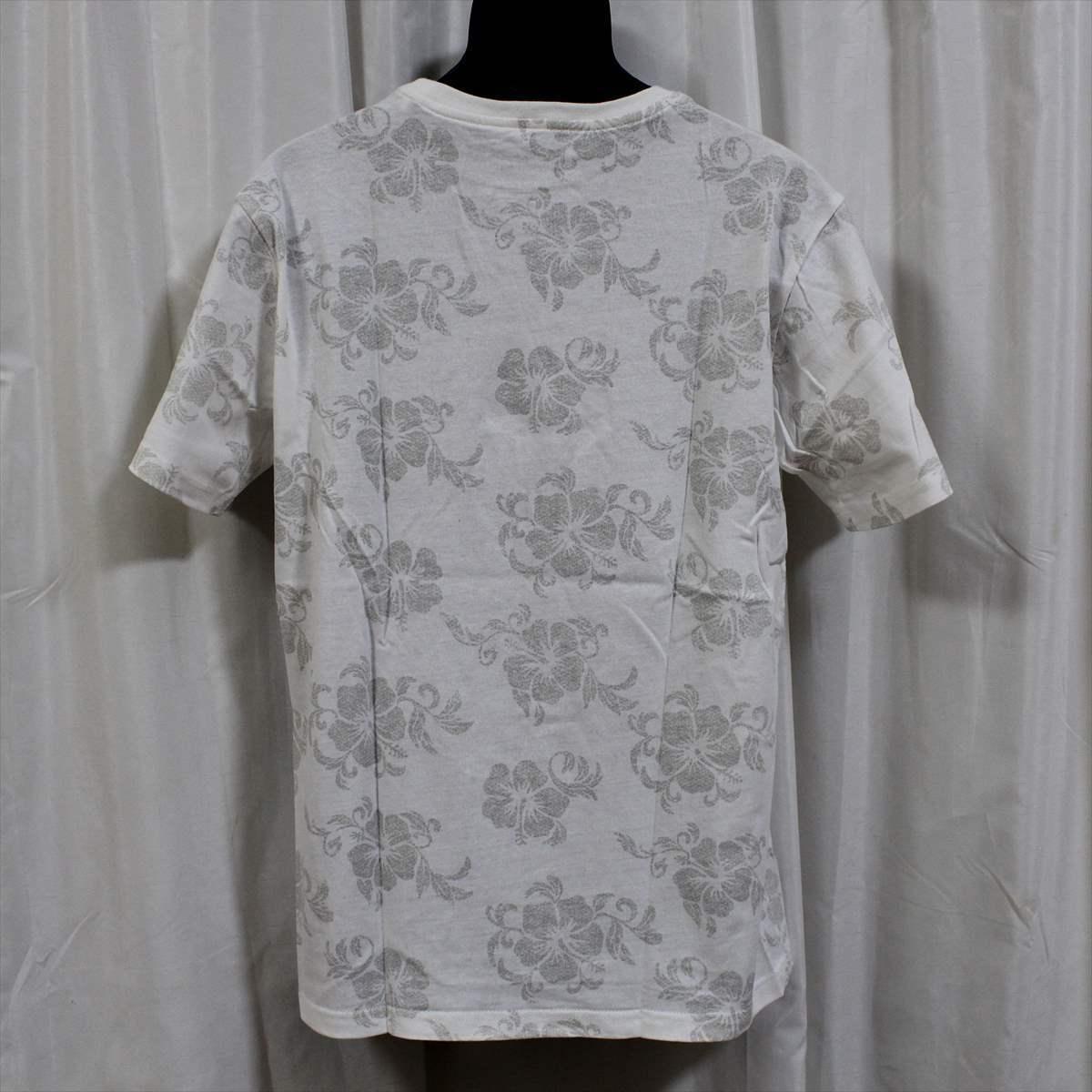ピコ PIKO メンズ半袖Tシャツ ホワイト Lサイズ 新品 HAWAIIAN LONGBOARD WEAR 白_画像3