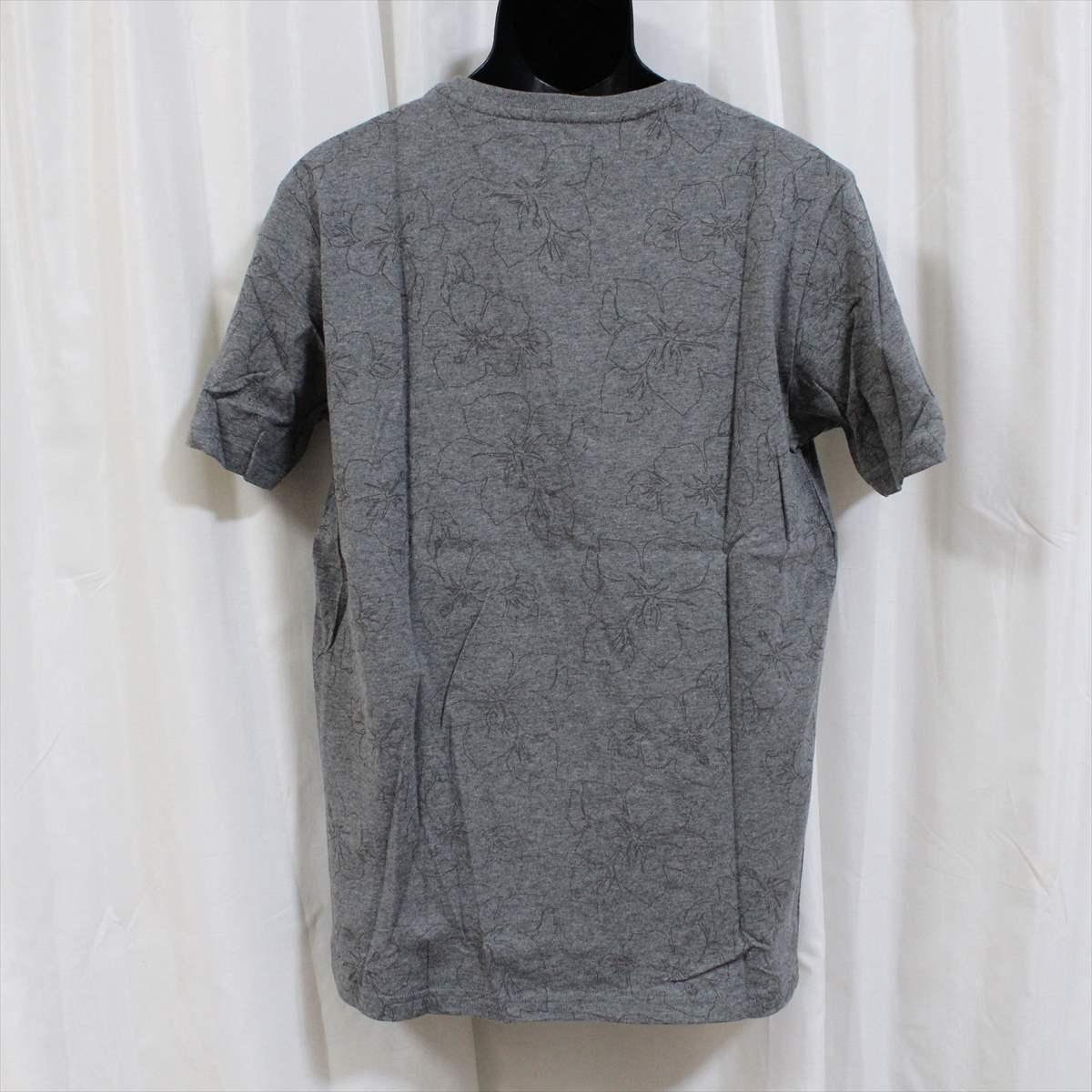 ピコ PIKO メンズ半袖Tシャツ グレー Lサイズ 新品 HAWAIIAN LONGBOARD WEAR_画像3