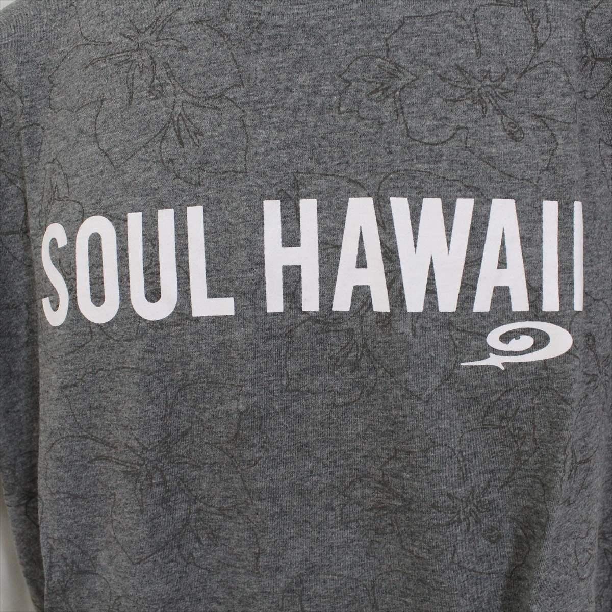 ピコ PIKO メンズ半袖Tシャツ グレー Lサイズ 新品 HAWAIIAN LONGBOARD WEAR_画像2