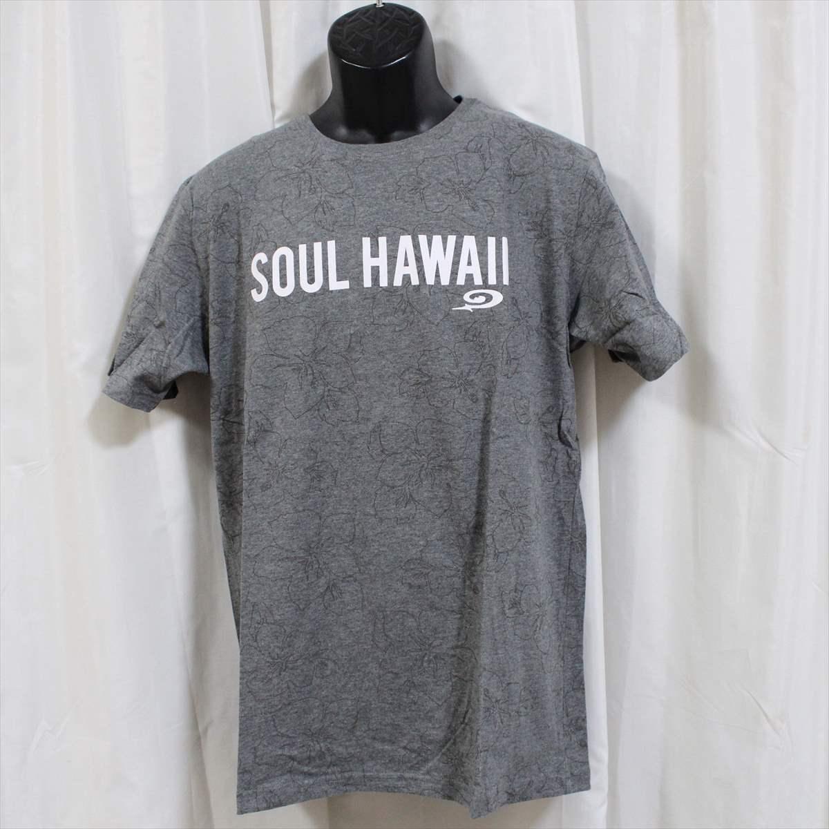 ピコ PIKO メンズ半袖Tシャツ グレー Lサイズ 新品 HAWAIIAN LONGBOARD WEAR_画像1