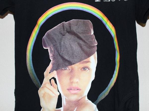 ロックスターズ エンジェルス ROCKSTARS & ANGELS レディース半袖Tシャツ ブラック 海外Sサイズ NO21 新品 黒_画像2