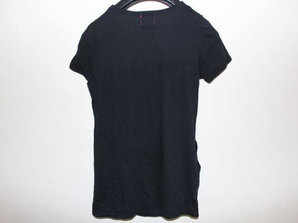 ロックスターズ エンジェルス ROCKSTARS & ANGELS レディース半袖Tシャツ ブラック 海外Sサイズ NO21 新品 黒_画像3