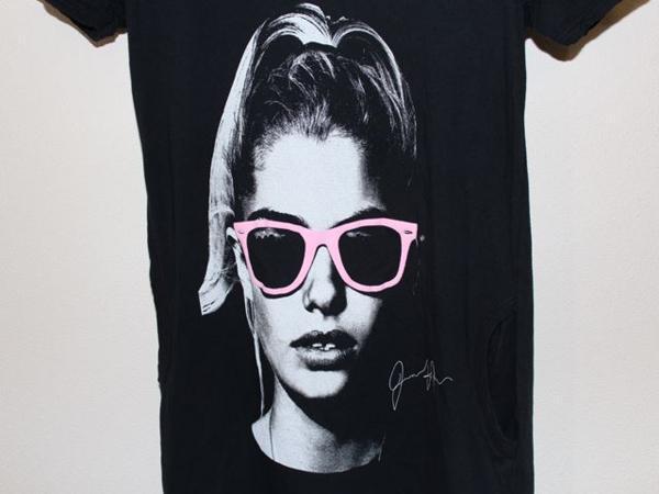 ロックスターズ エンジェルス ROCKSTARS & ANGELS レディース半袖Tシャツ ブラック 海外Sサイズ 新品 黒_画像2