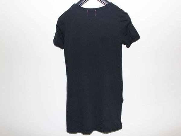 ロックスターズ エンジェルス ROCKSTARS & ANGELS レディース半袖Tシャツ ブラック 海外Sサイズ 新品 黒_画像3
