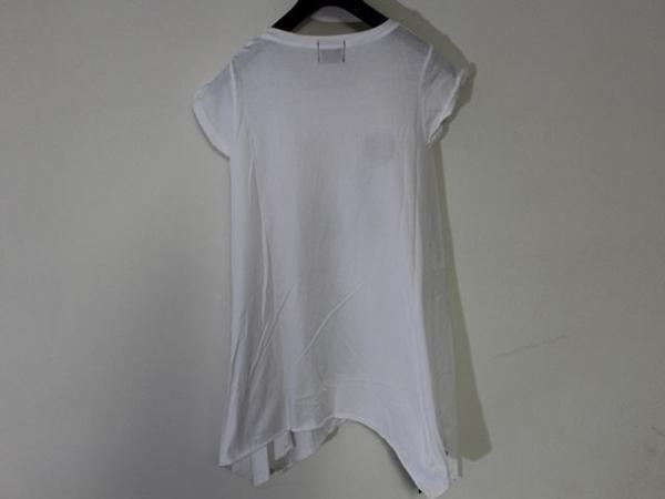 ロックスターズ エンジェルス ROCKSTARS & ANGELS レディース 半袖 オーバー Tシャツ ホワイト 海外XSサイズ 新品 白_画像3