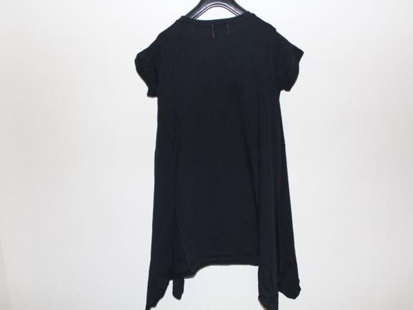 ロックスターズ エンジェルス ROCKSTARS & ANGELS レディース 半袖 オーバー Tシャツ ブラック 海外XSサイズ 新品 黒_画像3