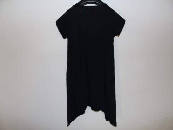 ロックスターズ エンジェルス ROCKSTARS & ANGELS レディース 半袖 オーバー Tシャツ ブラック 海外XSサイズ 新品 黒 NO7_画像3