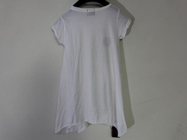 ロックスターズ エンジェルス ROCKSTARS & ANGELS レディース 半袖 オーバー Tシャツ ホワイト 海外Sサイズ 新品 白 NO19_画像3