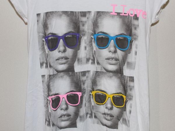ロックスターズ エンジェルス ROCKSTARS & ANGELS レディース 半袖 オーバー Tシャツ ホワイト 海外XSサイズ 新品 白_画像2