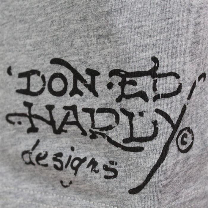 Ed Hardy(エドハーディー) メンズ半袖Tシャツ PA057 NEW YORK CITY スパンコール グレー 新品 Vネック_画像4