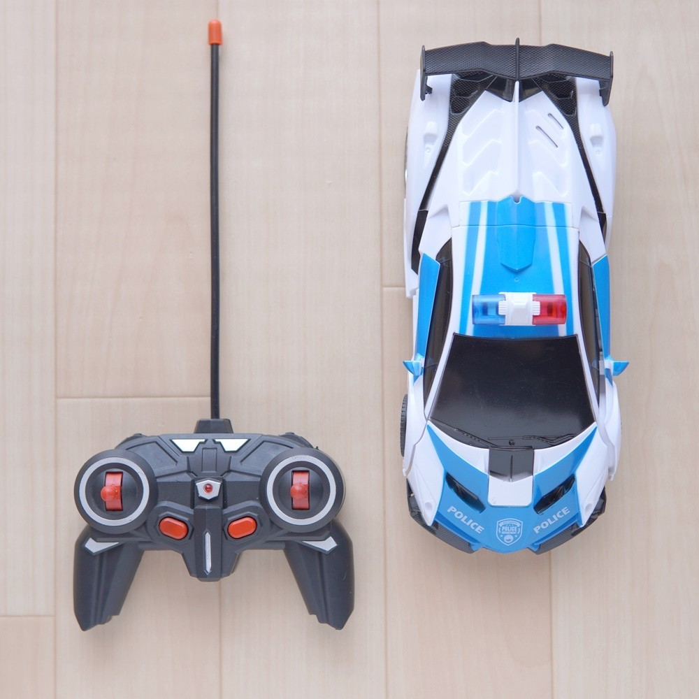 ラジコンカー RCカー おもちゃの車 オフロードリモコンカー 高速 安定性高い 耐衝撃 子供おもちゃ 贈り物 (青)