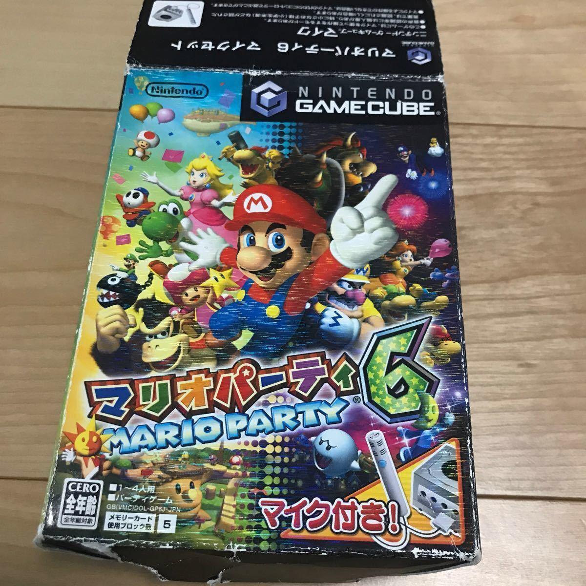 ゲームキューブソフト マリオパーティ5+6