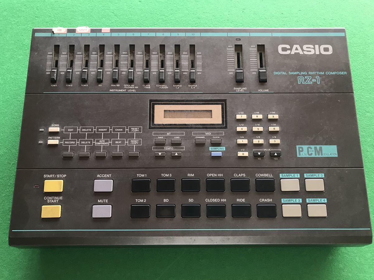 CASIO リズムマシン RZ-1 ジャンク_画像1
