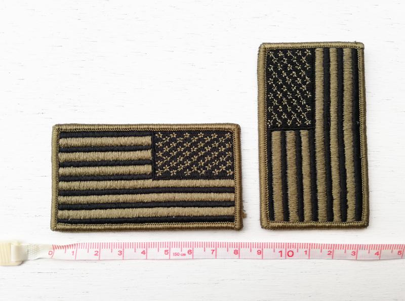 実物 米軍放出品 USGI OCP マルチカム用 アメリカン フラッグパッチ 左右2枚セット     (seals devgru marsoc 20b05_画像3