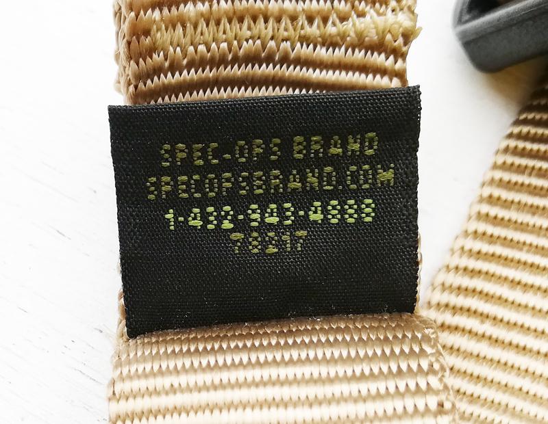 実物 米軍放出品 SPEC-OPS Mamba コンバット ファイティング スリング TAN     (usmc delta m16a4 m16a3 20f17_画像3
