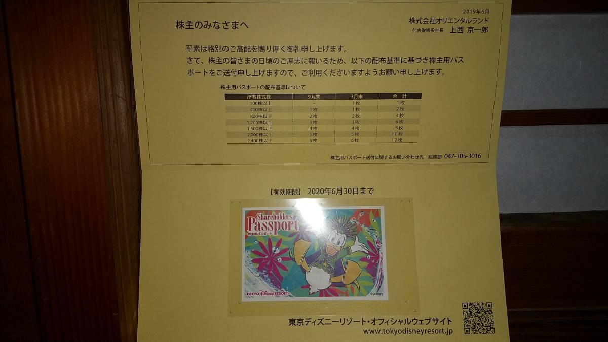 東京ディズニーリゾート共通券 株主優待1デーパスポート 期限2022年1月末 1枚①_画像1