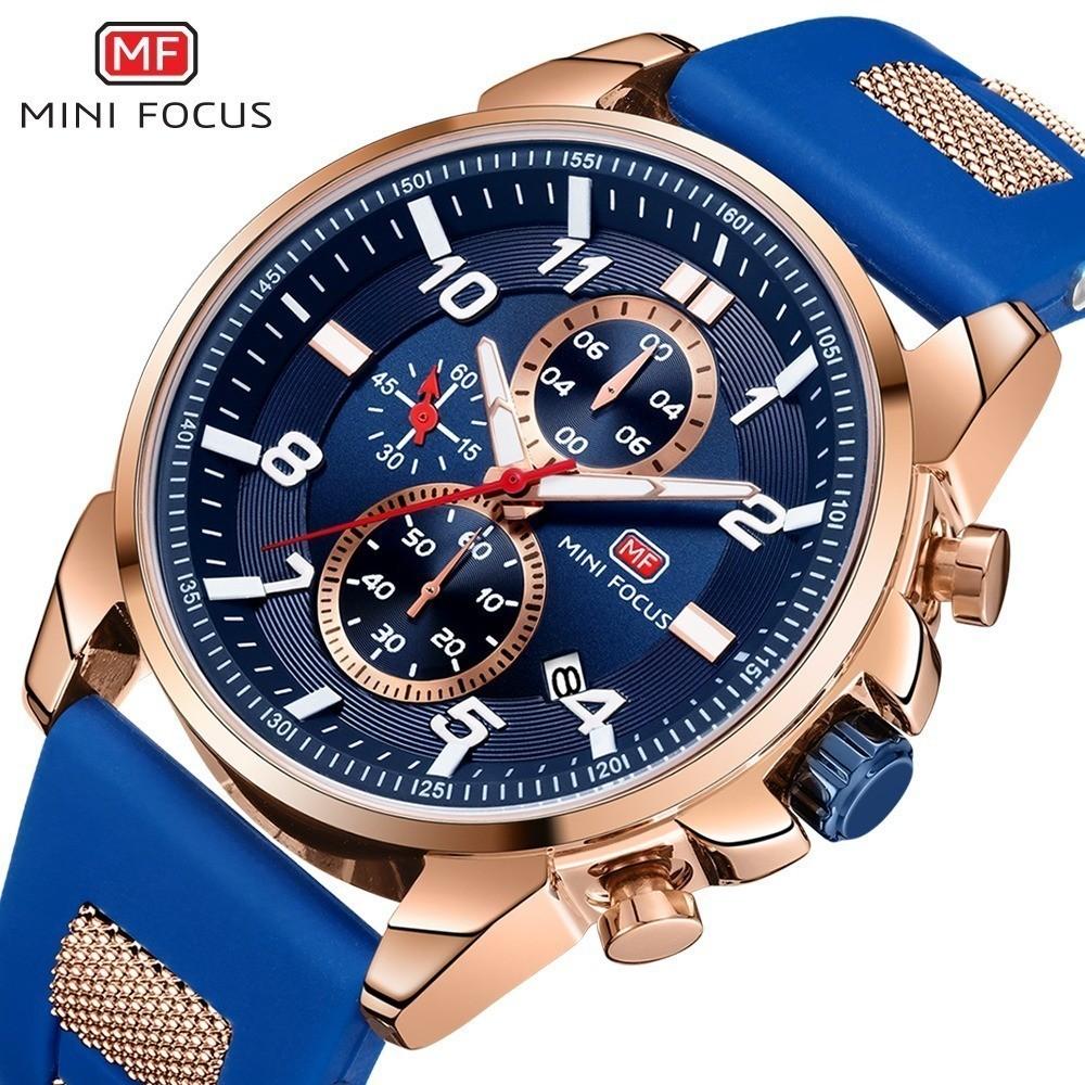 高級 メンズ 腕時計 男性 スポーツウォッチ 多機能 日付 夜光 防水 ビジネス カジュアル 5色選択可 h438_画像1