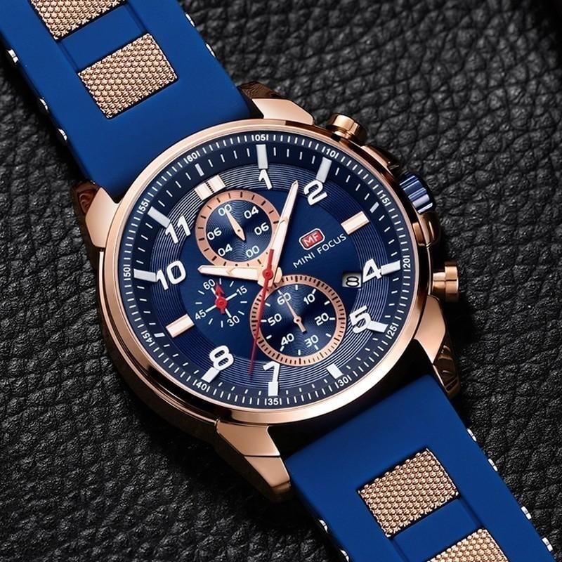 高級 メンズ 腕時計 男性 スポーツウォッチ 多機能 日付 夜光 防水 ビジネス カジュアル 5色選択可 h438_画像2