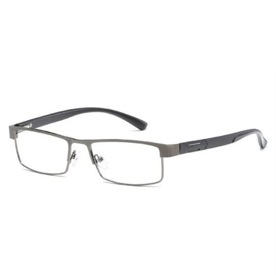 Pn140:メンズ チタン 合金 老眼鏡 非球形 12層 コーティング レトロ ビジネス 遠視 処方 眼鏡_カラー(2)