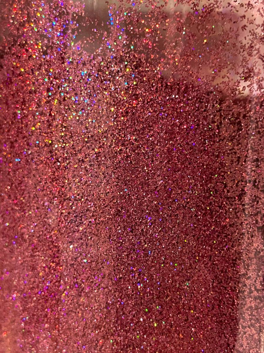 0.2mm メタルフレーク ラメ ピンクレインボー 30g★虹色 ラメフレーク カスタムペイント グリッター 7色ラメ ネイルアート_画像3
