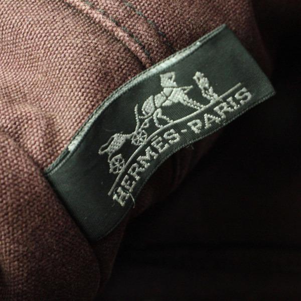 HERMES エルメス フールトゥMM キャンバス トートバッグ ハンドバッグ 手提げかばん 訳あり 21-0423bu05_画像7