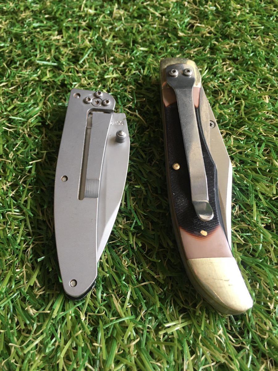 SCHRADE Folding Knife #002 2本 シュレード フォールディングナイフ 折りたたみナイフ